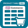 افزونه Woo Products Table Pro v7.0.0